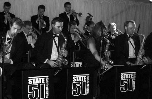 The State 51 Swing Orchestra in full swing
